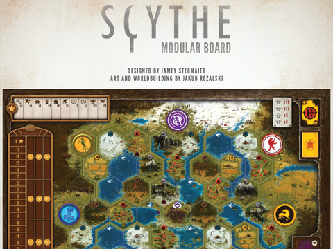 Scythe: Modular Board (release date 26th July)