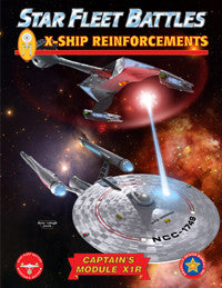 Star Fleet Battles:  X1R: X-Ships Reinforcements