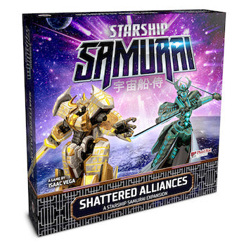 Starship Samurai: Shattered Alliances Expansion (expected in stock on 15th January)
