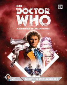 Doctor Who Sixth Doctor Sourcebook + complimentary PDF