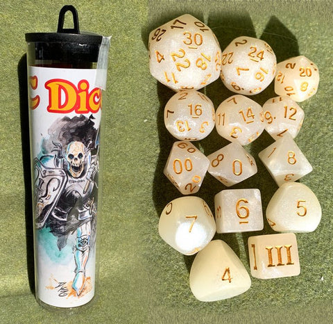 Dungeon Crawl Classics Dice: Skeleton Saint