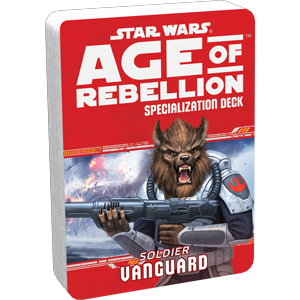Star Wars Age of Rebellion: Vanguard Specialization Deck