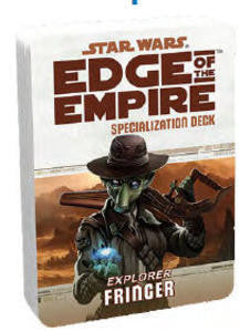 Star Wars - Edge of the Empire: Fringer Specialization Deck