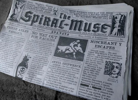 Spire: Strata companion newspaper (12-page tabloid newsprint format)