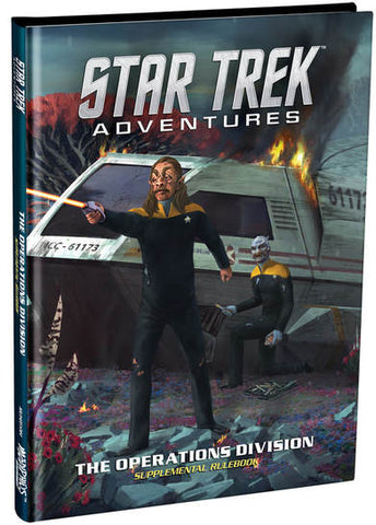 Star Trek Adventures: Operations Division Supplementary Rulebook + complimentary PDF