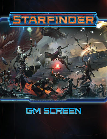 Starfinder RPG GM's Screen