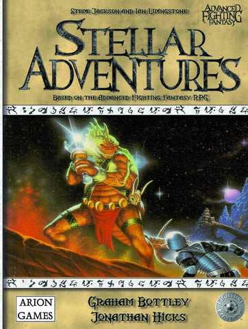 Advanced Fighting Fantasy: Stellar Adventures + complimentary PDF - Leisure Games
