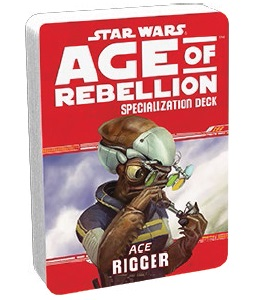 Star Wars Age of Rebellion Specialization Deck: Rigger
