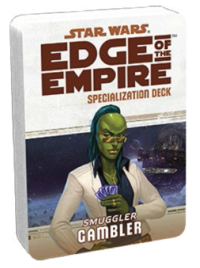 Star Wars Edge of the Empire: Gambler Specialization Deck
