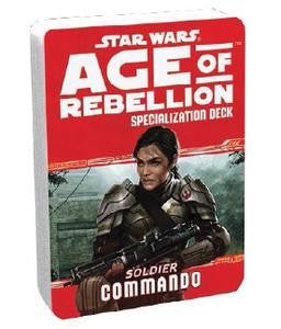 Star Wars Age of Rebellion Specialization Deck: Commando