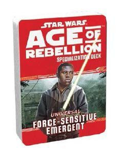 Star Wars Age of Rebellion Specialization Deck: Force Sensitive Emergent