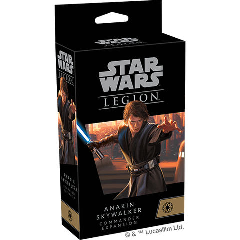 Star Wars Legion: Anakin Skywalker Commander ExpansionStar Wars Legion: Anakin Skywalker Commander Expansion (expected in stock on 1st December)