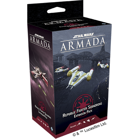 Star Wars Armada: Galactic Republic Fighter Squadrons Expansion Pack