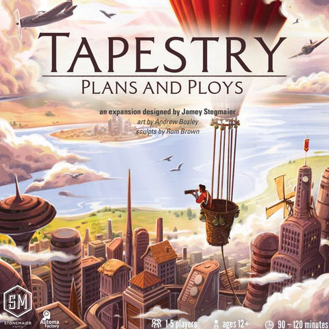 Tapestry: Plans & Ploys (release date 30th October)