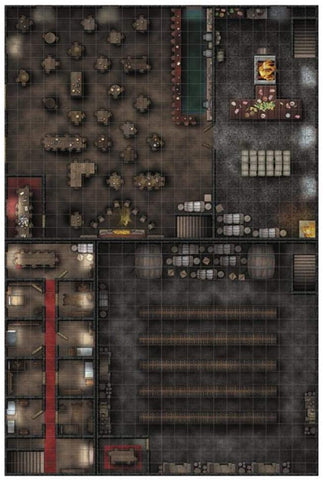 RPG Locations Premium Map: Tavern