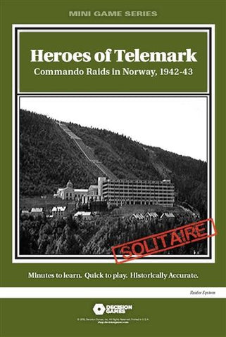 Mini Game Series: Heroes of Telemark: Commando Raids in Norway, 1942-43