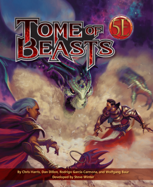 Tome of Beasts (D&D 5E) Hardcover