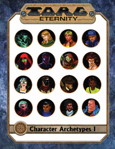 Torg Eternity: Character Journal
