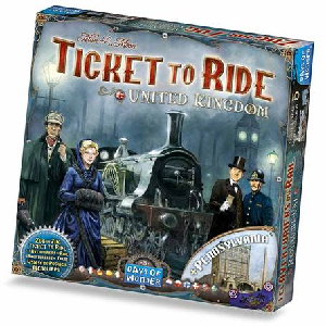 Ticket to Ride: United Kingdom and Pennsylvania Map Collection
