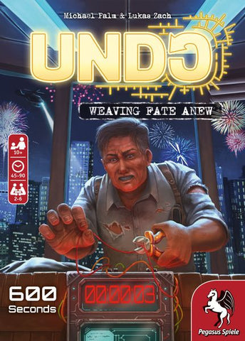 UNDO: 600 Seconds (in stock now)