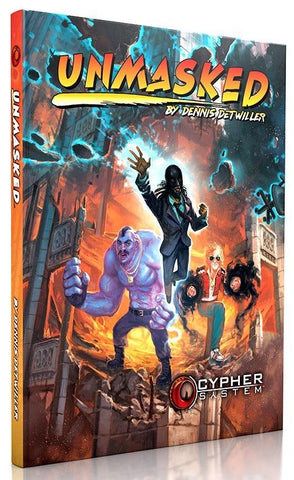 Cypher System RPG: Unmasked - Leisure Games