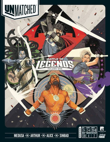 Unmatched Battle Of Legends, Vol. 1 (expected in stock on 24th September)