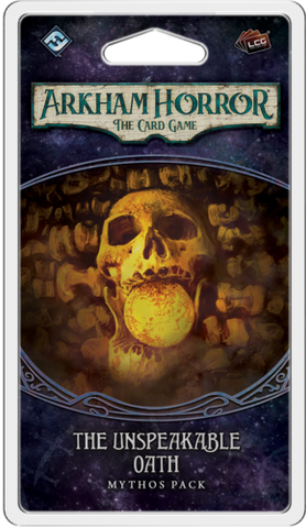 Arkham Horror: The Card Game - The Unspeakable Oath Mythos Pack - Leisure Games