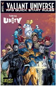 Valiant Universe RPG Core Book