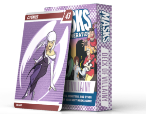 Masks: A New Generation: Deck of Villainy