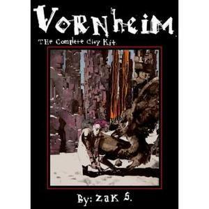 Lamentations of the Flame Princess: Vornheim, The Complete City Kit (2nd printing) + complimentary PDF