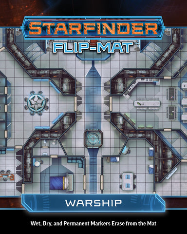 Starfinder Flip-Mat: Warship (release date 27th March)
