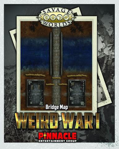 Savage Worlds: Weird War I Map Set: Bridge/Trenches
