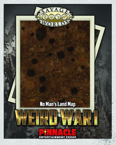 Savage Worlds: Weird War I Map Set: No Man's Land/Village