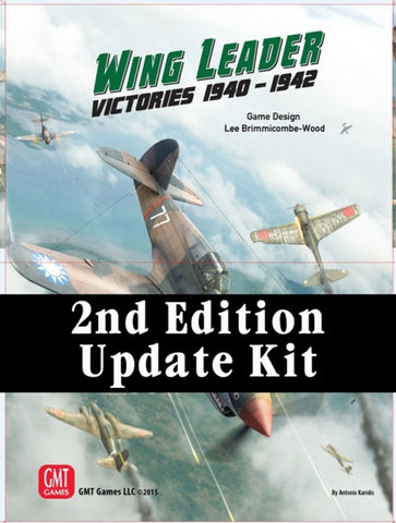 Wing Leader: Victories 1940-1942 Vol I Update Kit