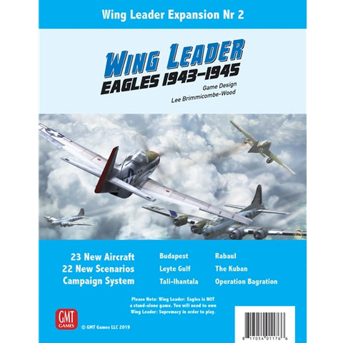 Eagles Expansion: Wing Leader: Supremacy 1943-1945 Vol II