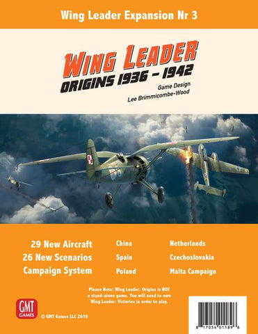 Wing Leader Expansion 3: Origins 1936-1942