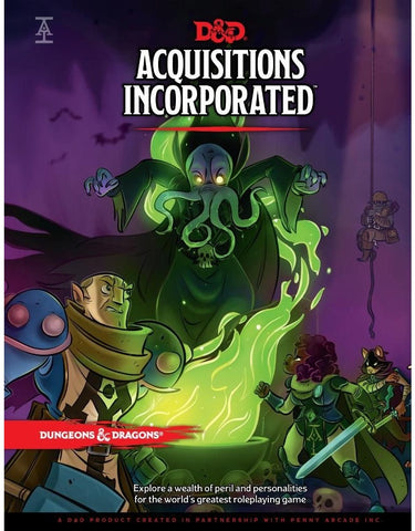 Dungeons & Dragons: Acquisitions Incorporated - reduced price*