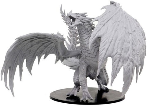 WZK73144: Gargantuan Red Dragon: Pathfinder Battles Deep Cuts Unpainted Miniature (W7)