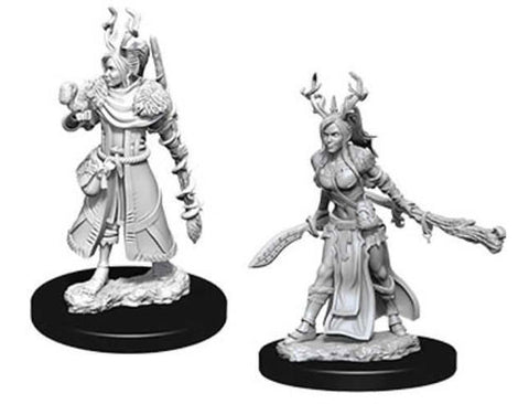 WZK73701: Female Human Druid: D&D Nolzur's Marvelous Unpainted Miniatures (W9)