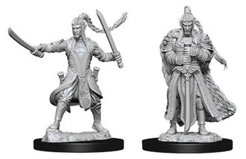 WZK73707: Male Elf Paladin: D&D Nolzur's Marvelous Unpainted Miniatures (W9)
