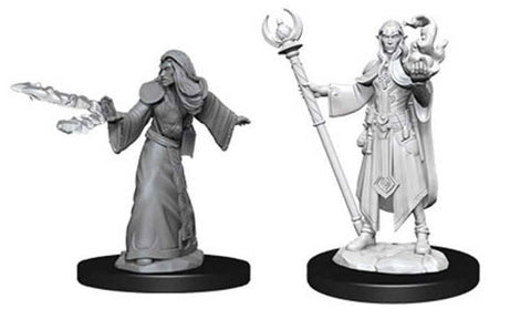 WZK73709: Male Elf Wizard: D&D Nolzur's Marvelous Unpainted Miniatures (W9)