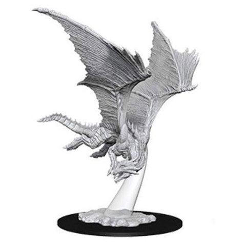 WZK73710: Young Bronze Dragon: D&D Nolzur's Marvelous Unpainted Miniatures (W9)