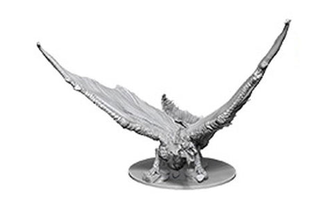 WZK73711: Young Brass Dragon: D&D Nolzur's Marvelous Unpainted Miniatures (W9)