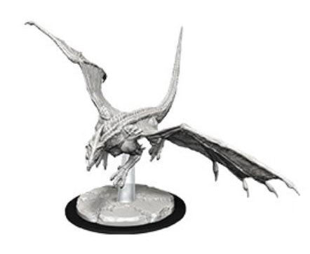 WZK73712: Young White Dragon: D&D Nolzur's Marvelous Unpainted Miniatures (W9)
