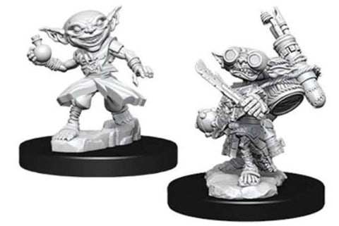 WZK73720: Male Goblin Alchemist: Pathfinder Deep Cuts Unpainted Miniatures (W9)