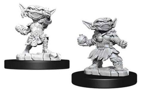 WZK73721: Female Goblin Alchemist: Pathfinder Deep Cuts Unpainted Miniatures (W9)