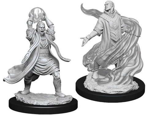 WZK90005: Male Elf Sorcerer: D&D Nolzur's Marvelous Unpainted Miniatures (W11)