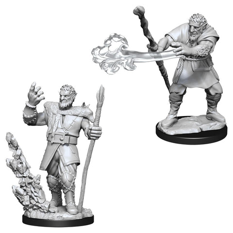 WZK90013: Male Firbolg Druid: D&D Nolzur's Marvelous Unpainted Miniatures (W11)