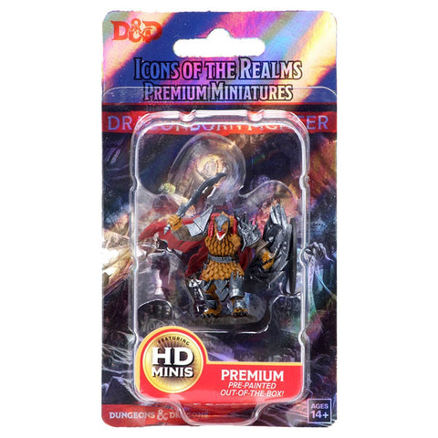 WZK93004 Dragonborn Male Fighter D&D Icons of the Realms Premium Figures