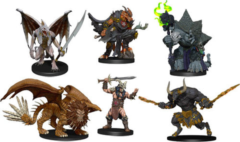 WZK96014: D&D Icons of the Realms Descent into Avernus: Arkhan the Cruel and The Dark Order